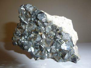 cristales de magnetita